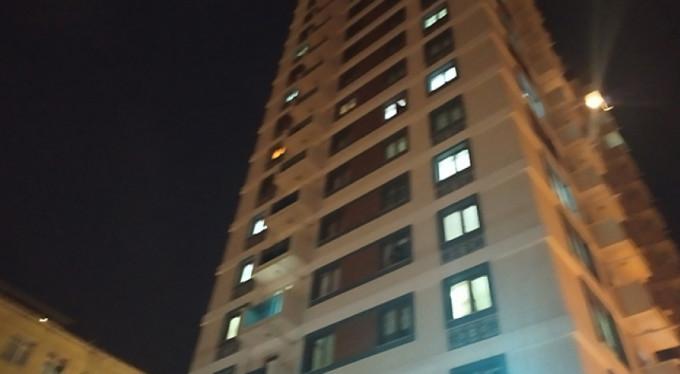 Korkunç olay! 11. kattan...