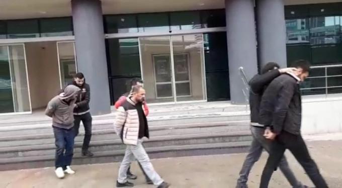 Bursa'da hareketli saatler! 11 şüpheliden dördü...