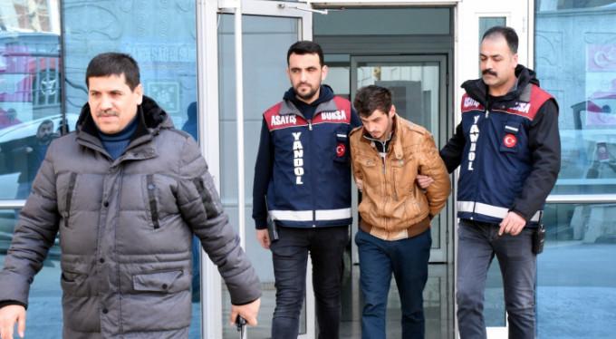 """""""Açtım, pişmanım"""" dedi, tutuklandı! Yer Bursa..."""