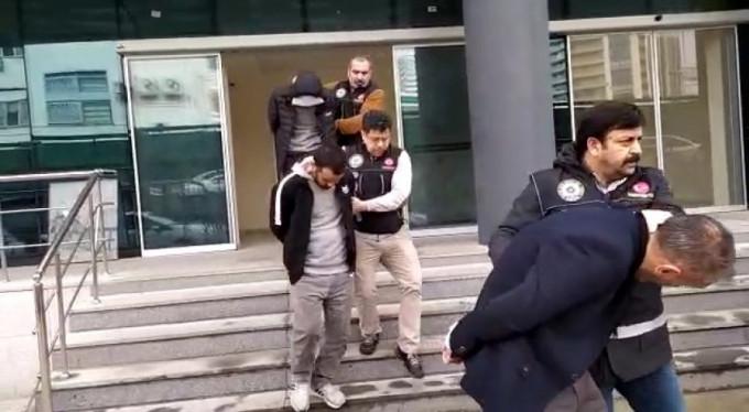 Bursa'da hareketli saatler! 10 gözaltı