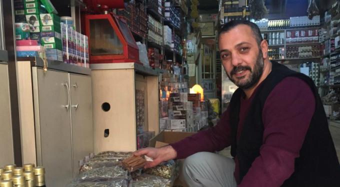 Bursa'da soğuk hava onlara yaradı
