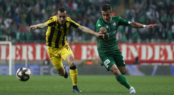 Bursaspor kan kaybediyor: 1-1