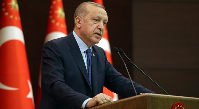 Erdoğan'dan korona virüs açıklaması!