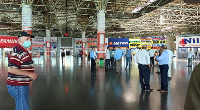 Bursa'da terminale akın ettiler!