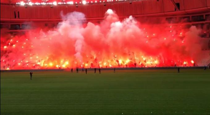 Bursaspor'dan görkemli kutlama!