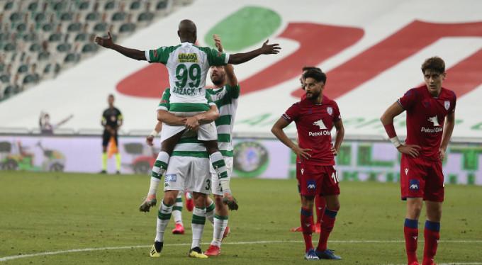 Bursaspor kazandı, üst sıralar karıştı!