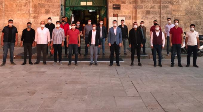 Bursa'da Ayasofya kararı için şükür duası