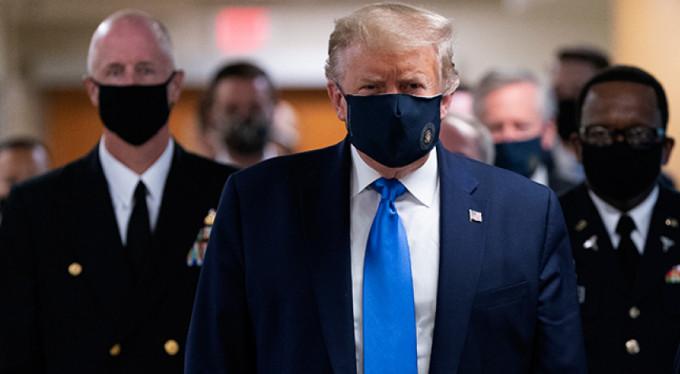 İlk kez maskeyle görüntülendi!