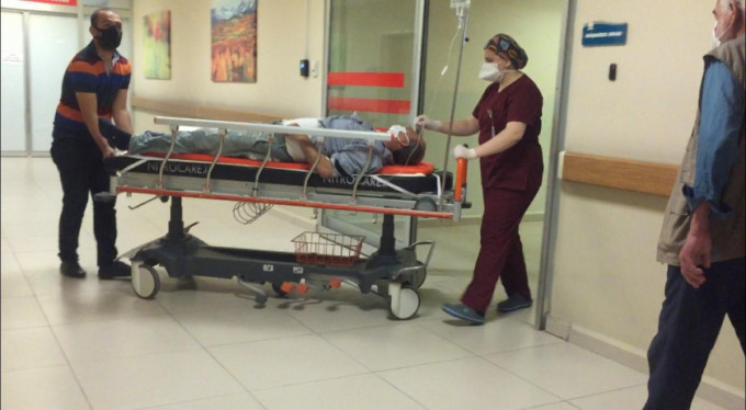 Bursa'da bir işçi ağır yaralı!
