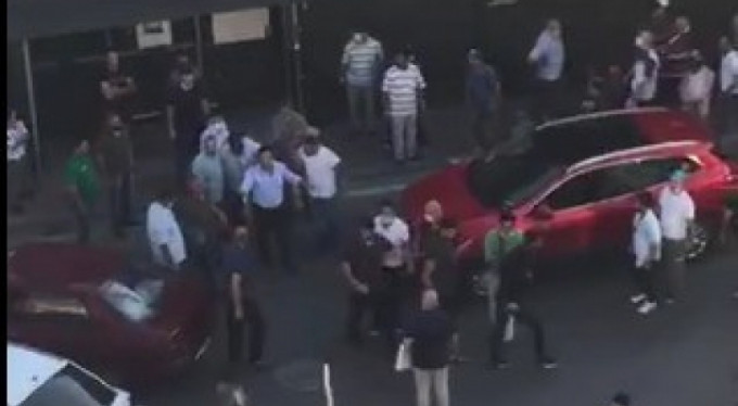 Bursa'da trafikte meydan muharebesi!