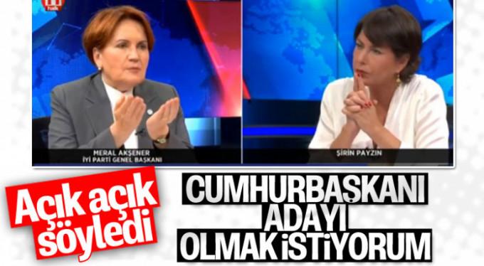 Meral Akşener açık açık söyledi