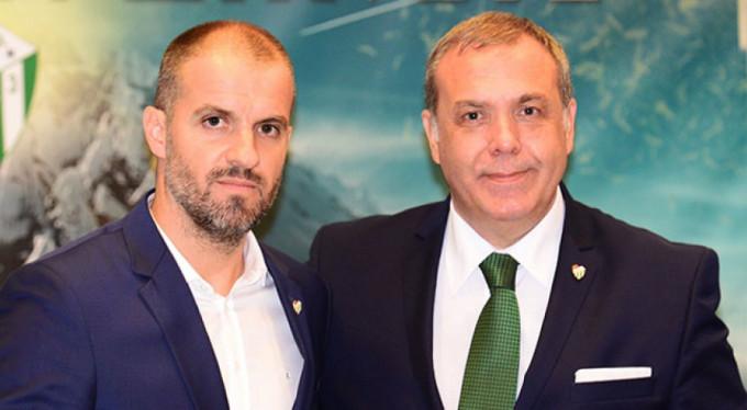 Bursaspor, Teknik Direktör Mustafa Er ile sözleşme imzaladı