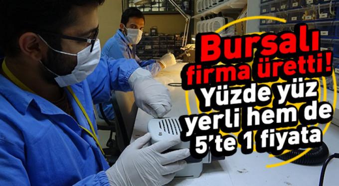 Türkiye'de ilk ve tek...Bursa'da üretildi