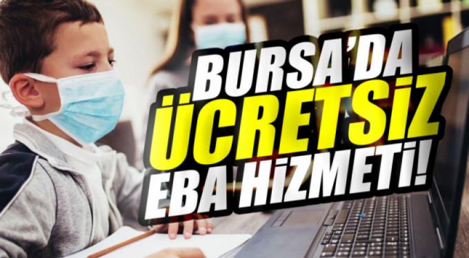 Bursa'da öğrencileri sevindiren hizmet