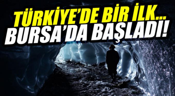 Türkiye'de bir ilk...