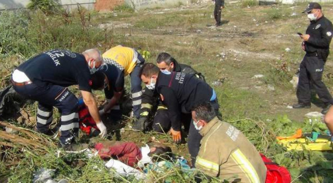 Bursa'da skandal...Diri diri toprağa gömüyorlardı