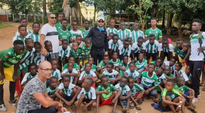 Afrika'da Bursaspor sevinci