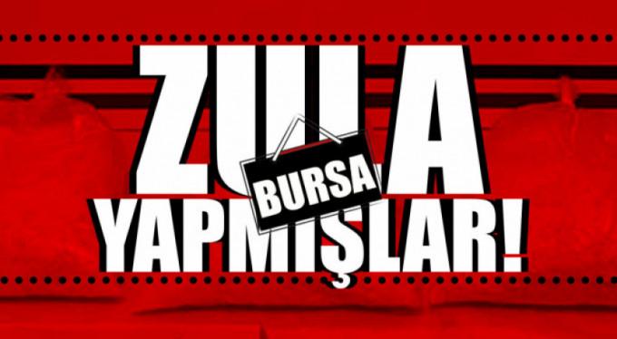 Bursa'da büyük operasyon