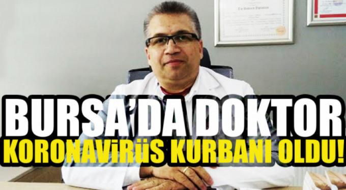 Bursa'nın genç doktoru korona virüs kurbanı