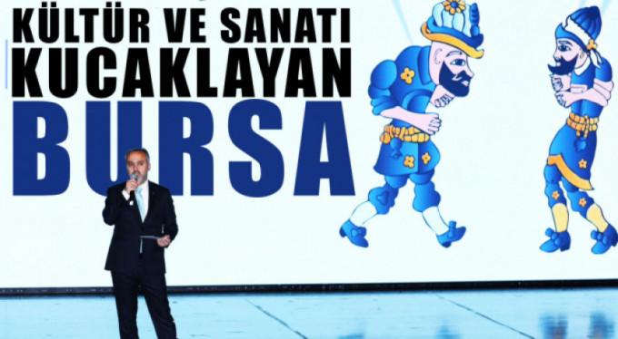 Bursa kültür ve sanata doyacak