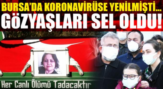 Bursa'da sağlık şehidine acı veda