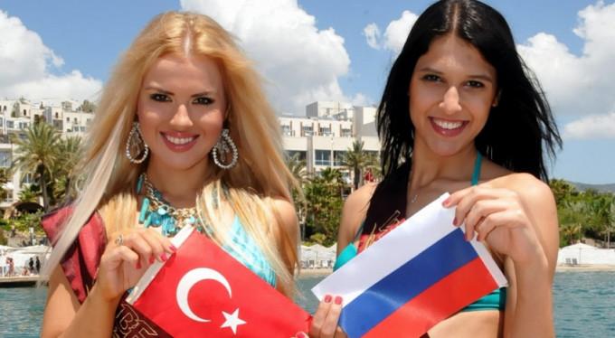 Turizmde açık ara şampiyon Rus turistler