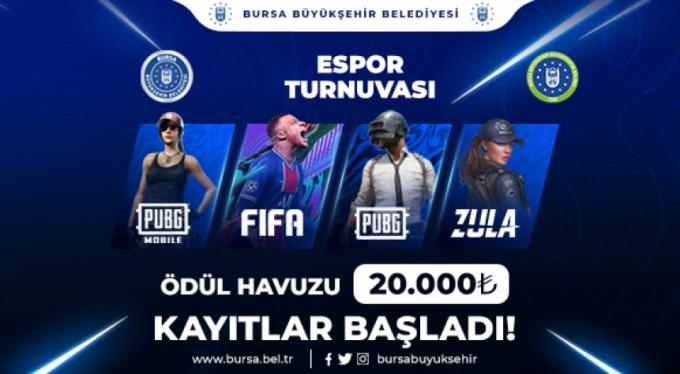 Espor Bursa'da kazandırıyor