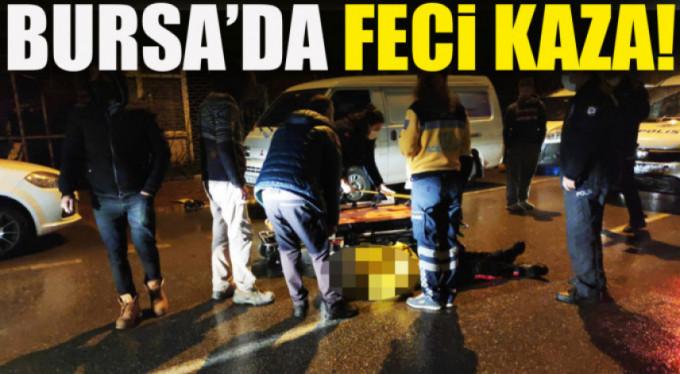 Bursa'da yürekleri ağıza getiren kaza
