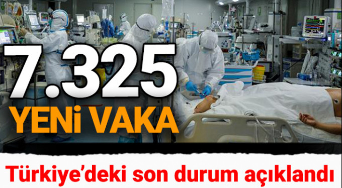 Son 24 saatte korona virüsten 86 kişi hayatını kaybetti