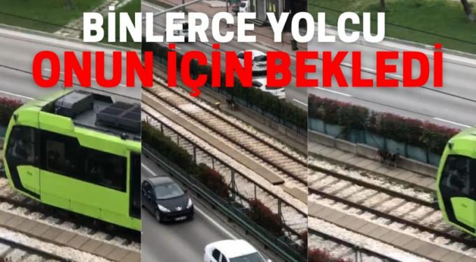 Bursa'da binlerce yolcu onun için bekledi