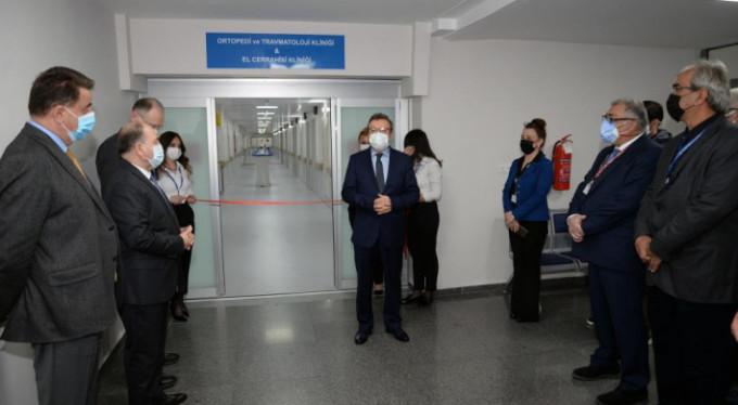 Hastane kliniklerine yeni düzenleme