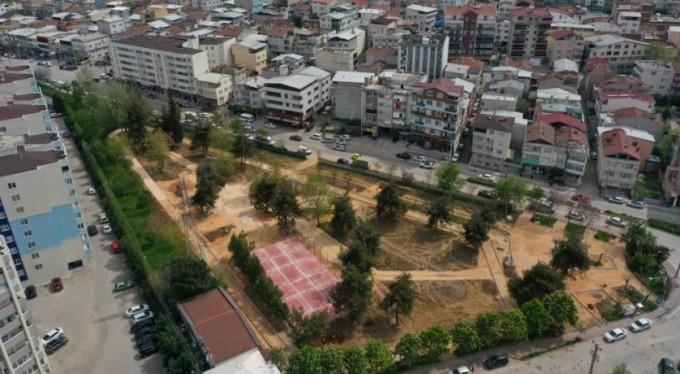 Nilüfer'de parklar bayram sonrasına hazırlanıyor