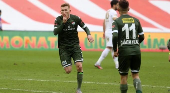 Bursaspor'un 35 golünde üç isim ön plana çıktı