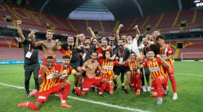Kayserispor 26. kez Süper Lig'de