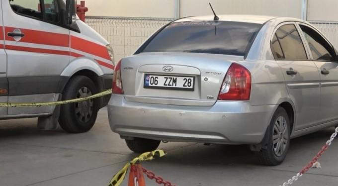 Bursa'da benzinlikte otomobilin içinde ölü bulundu
