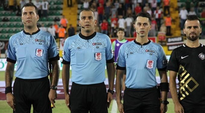 Altınordu-Bursaspor maçının hakemi belli oldu