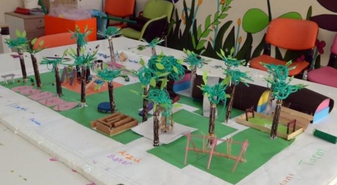Çocuklar tasarlıyor, 'Osmangazi' yapıyor