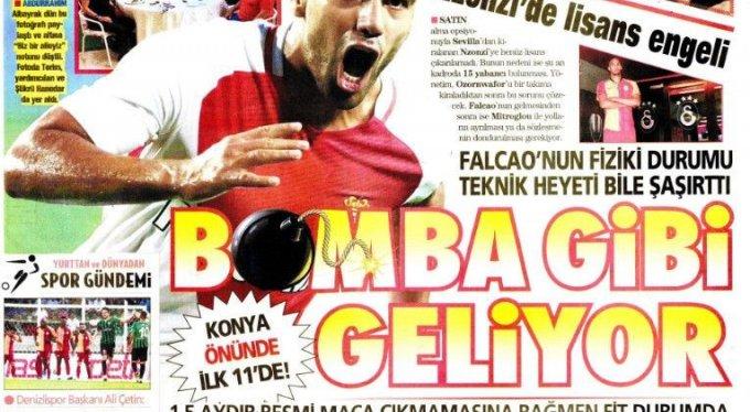 İşte günün spor manşetleri!