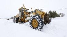 Bursa'da karla mücadele!