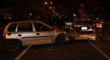 Asker uğurlama konvoyu kaza yaptı: 3 yaralı