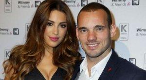 Sneijder kliniğe yatarsa Yolanthe'yle barışacak