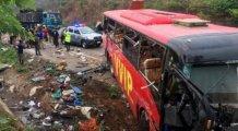 O ülkede büyük kaza! 60 ölü var...