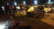 Bursa'da sahur yolunda feci kaza!