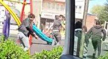 Bursa'da virüsten değil zabıtadan korktular!