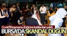 Bursa'da skandal düğün