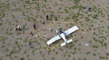 Uçak düştü...Can pazarı yaşandı