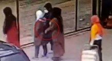 Aile boyu hırsızlar kameraya böyle yakalandı