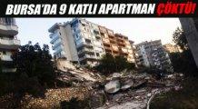 Bursa'da 9 katlı bina çöktü