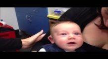 İlk kez duyan bebeğin tepkisi