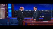 Bruce Willis ve Stephen Colbert canlı yayında...